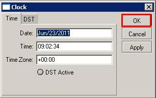 setting tanggal dan jam di winbox